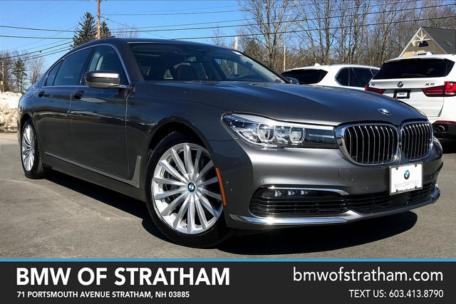 Certified 2017 BMW 7 Series