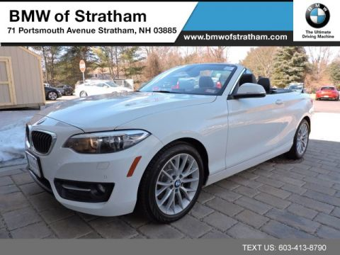 Certified 2016 BMW 2 Series CONVERTIBLE