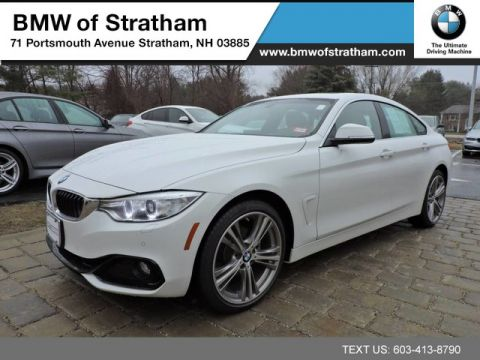 Certified 2016 BMW 4 Series