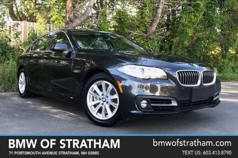 Certified 2015 BMW 5 Series