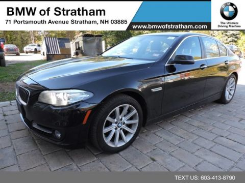 Certified Pre-Owned 2015 BMW 5 Series