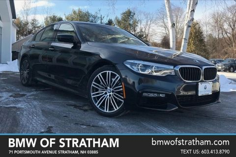 Certified 2017 BMW 5 Series